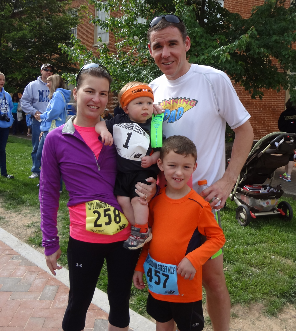 The Loudoun Street Mile Race Recap – A Family Affair