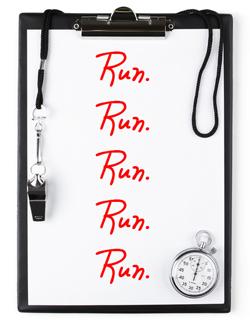 Utilizing a Running Coach vs. Using a Marathon Plan