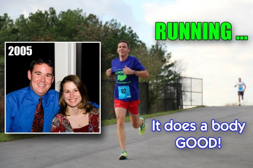 What does a Running Dad eat?