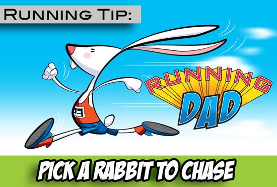 Running tip: Find a rabbit