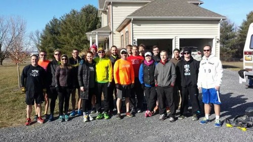 The First Annual Winchester Beer Mile Participants