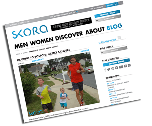 Read All About It … Running Dad Feature