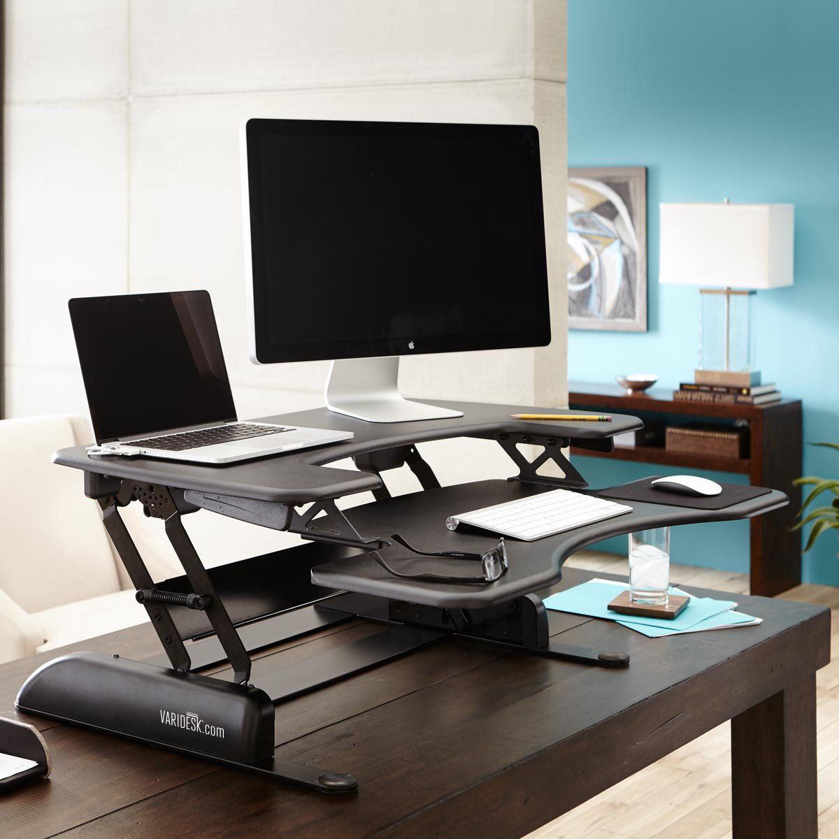 Don't Take Work Sitting Down. Get on Your Feet with a Standing Desk.