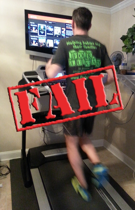 Treadmill Safety – Don't be a Dumbass … Like Me