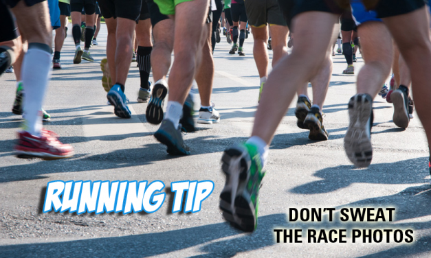Running tip: Don't sweat the race photos. Your form is not that bad (hopefully).