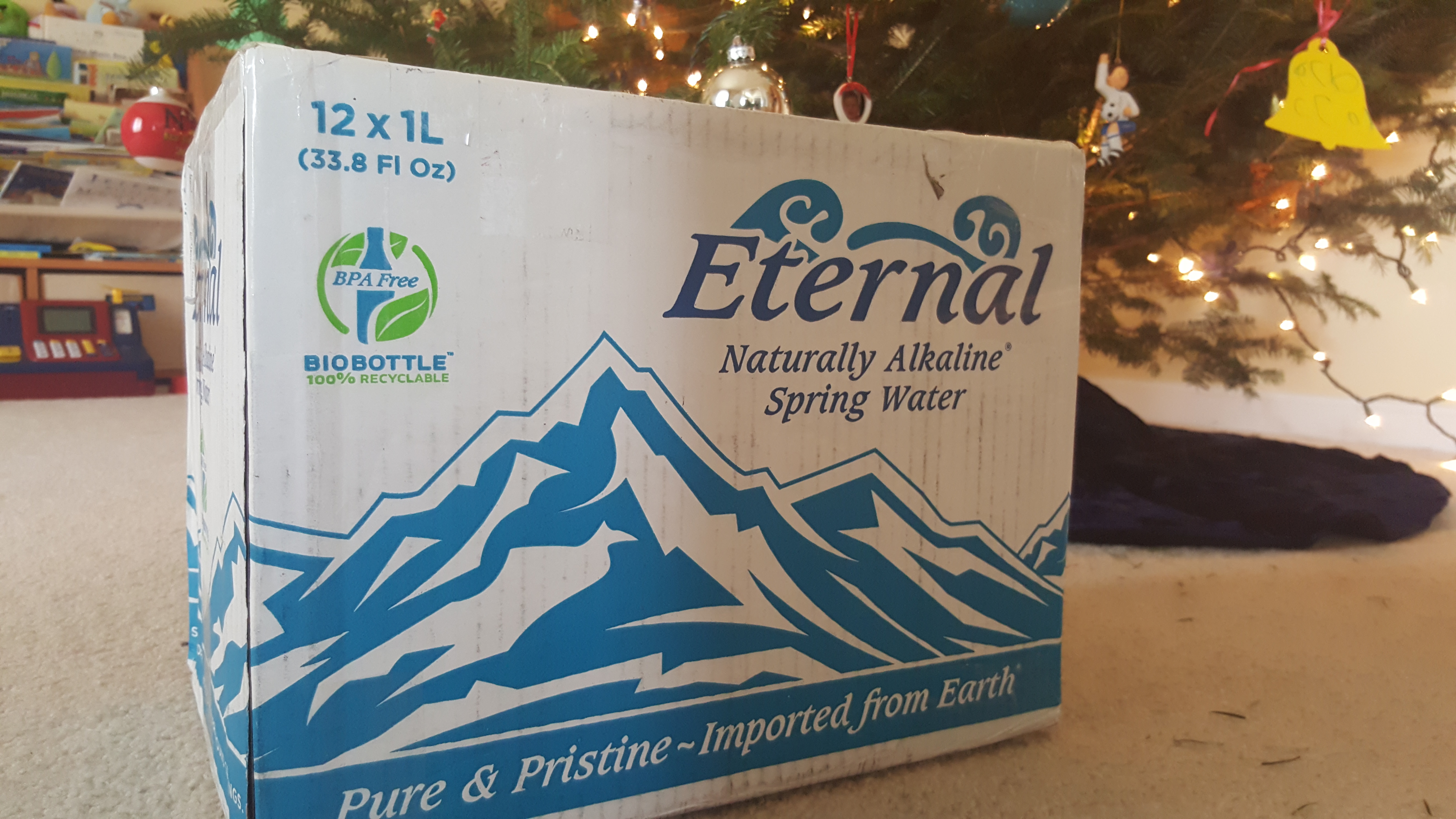 Eternal Naturally Alkaline Spring Water – How good is your pre-hydration game?