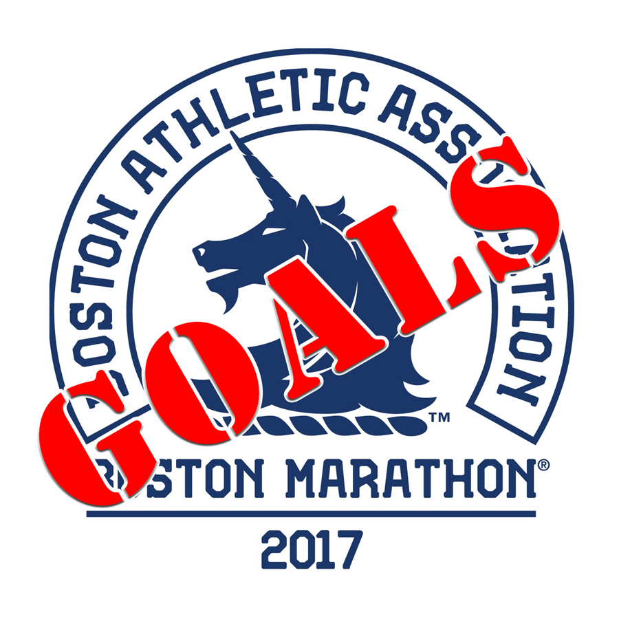 Boston Marathon 2017 – Goals