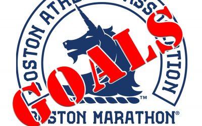 Boston Marathon 2018 – Goals